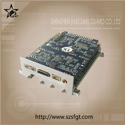 New HD COFDM video PCB modulator support triple video in/out
